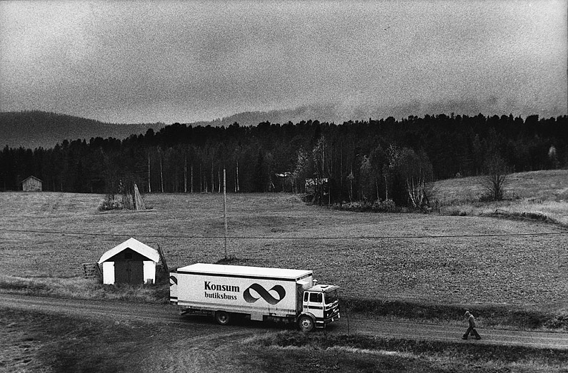 Butiksbussen i Ammarnäs